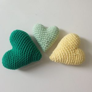 Tre olika hjärtan