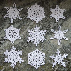 Snöflingor #1-17