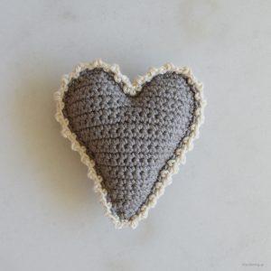 Ett virkat hjärta