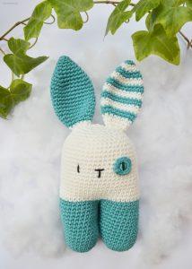 En virkad kanin