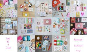 Ett år med Little Box of Crochet