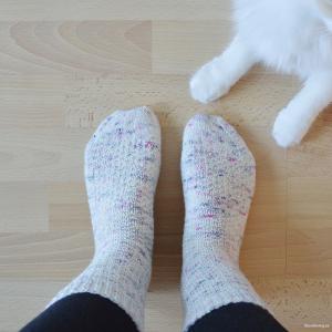 Hermiones Everyday Socks – Mina första stickade sockor